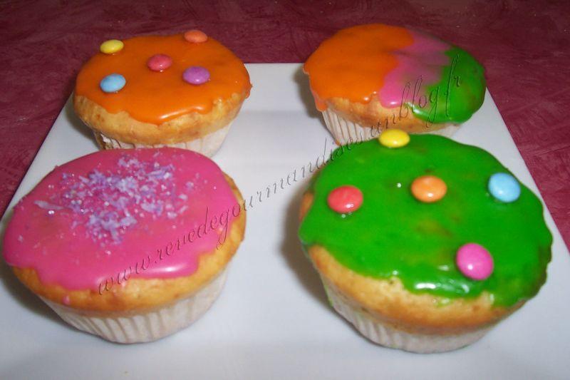 cupcakes glacés