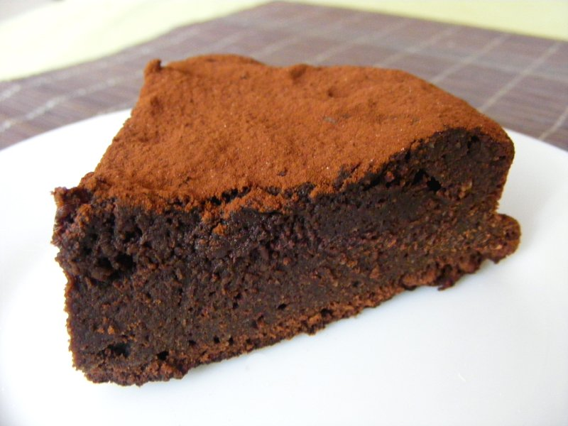 Gateau au yaourt fondant au chocolat